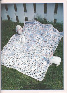 🌼 🌼 Coberta Blocos Crochetar Quadrado por Malha itens decorativos Criações -  /  🌼 🌼 Deck Blocks Crocheted Square by Knit Knacks Creations -