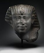Head of a Statue of an Early Middle Kingdom King