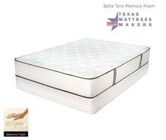 Texas Mattress Makers Bella Terra Memory Foam 619 00 Queen Set Http