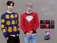 The Sims 4 Trillyke - Skydive Sweater