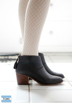 Fall booties that not only look great but also give back.