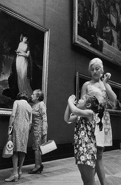 Le Louvre, Paris 1969, Alécio de Andrade