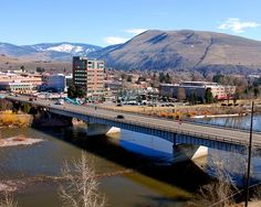 Downtown Missoula -- one of my fav places, before it got real big: love Rattlesnake, Bitterroot Valley (lived there in the '90s), always wanted to attend UM, love downtown