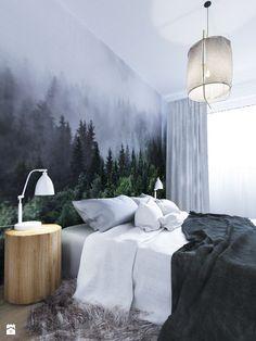 Home Room Design, Home Design Plans, House Design, Dream Bedroom, Home Decor Bedroom, Forest Bedroom, Navy Living Rooms, Inside A House, Bedroom Layouts
