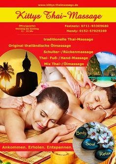 Kitty´s traditionelle Thaimassage in Stuttgart: Thai Massage Ditzingen