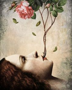 Anything can happen in a world that holds such beauty - Christian Schloe is a talented Chilean artist whose work includes digital art, painting, illustration, and photography. Art And Illustration, Animal Illustrations, Portrait Illustration, Fashion Illustrations, Illustrations Posters, Art Amour, Illustrator, Art Visionnaire, Art Du Monde