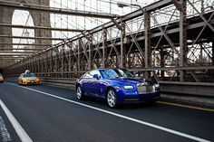 Wraith takes to New York's iconic Brooklyn Bridge as it begins a three-month tour of the US.