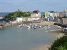 Tenby - Wales - UK Worked the summer here when I was 16