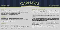 Programa del carnaval de Ribadesella