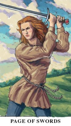 Image result for princess of swords tarot the Mary-el