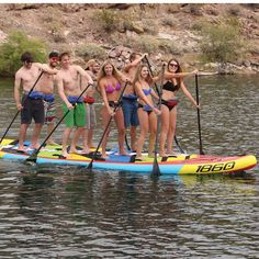 Arrive the party come early july with the Airhead Super Paddleboard from Friends and family Leisure Inflatable Paddle Board, Inflatable Sup, Family Leisure, Sup Accessories, Sup Stand Up Paddle, Sup Yoga, Standup Paddle Board, Sup Surf, Learn To Surf