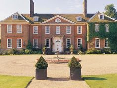 Gorgeous Kent wedding venues Chilston Park Hotel, Kent The Garden of England Imagine yourself lady of the manor as you waft ar Hotel Wedding Venues, Wedding Locations, Wedding Places, Wedding Stuff, Kent Homes, England Houses, British Wedding, Yosemite Wedding, Country House Hotels