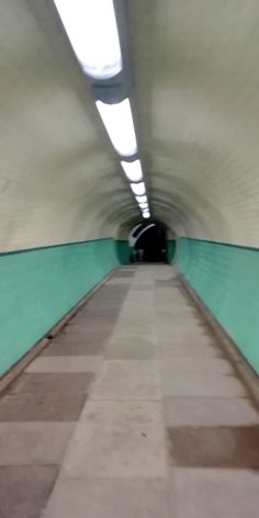 The pedestrian tunnel under the river Tyne