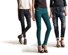 Diesel - Women's Collection - Fashion Apparel, Jeans, Shoes, Bags, Underwear and Sunglasses