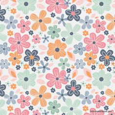 Fabric... A Beautiful Thing Main on Pink by Riley Blake Designs
