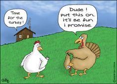 Happy turkey day funnies   on Nov. 24, 2011 at 7:42 AM