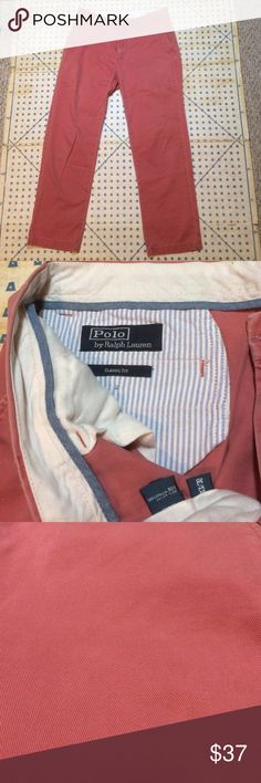Ralph Lauren Fashion Show Khaki With A Bright Color