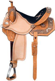 Saddles Tack Horse Supplies - ChickSaddlery.com Silver Royal Pistol Annie Barrel Saddle