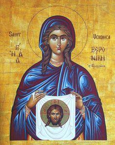 Orthodox  St. Veronica Icon