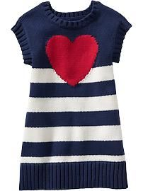 Heart Sweater Dresses for Baby | Old Navy