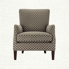 Desmond Upholstered Chair In Wed Granite