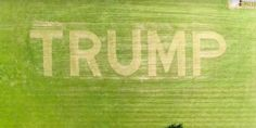During these 2016 elections, a Michigan man felt so passionately about his views on Donald Trump that he took to his fields to create a massive Trump homage. He carved it with a lawnmower, over 8 acres of land. Check out the video below for a full aerial view of his masterpiece.  Crazy right? …