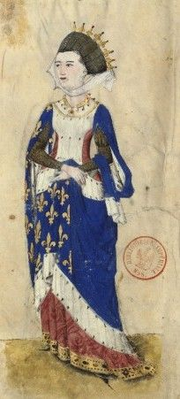 Marguerite of Provence,Queen of France in c. 1250
