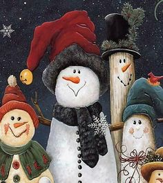 Snowman Pictures | Repinned via Maria Irene Marques Mendes