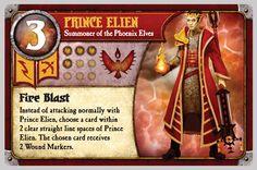 New blog post: Prince Elien deck build (Phoenix Elves) (http://www.cognitivebias.org/2013/10/27/phoenix-elves-deck-build-1st-summoner/?utm_medium=Pinterest), #BoardGame, #IOS, #Strategy, #SummonerWars