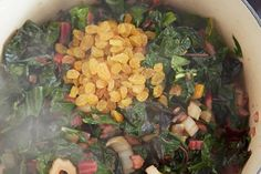 Rainbow Chard with a Maple-Vinegar Drizzle