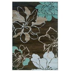 "Threadbind Dixon Brown/Sand Area Rug Rug Size: 1'10"" x 2'10"""