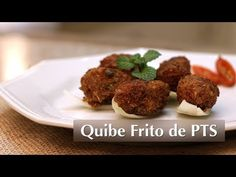 Receita de Quibe Frito de Carne de Soja (Vegetariana) - YouTube