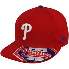 Philadelphia Phillies Red Melviz 59FIFTY Fitted Hat New Era Hats 8f1e8ab69