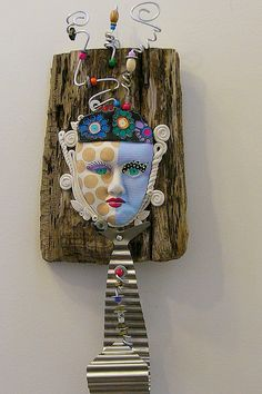 All Tied Up  Found object recycled sculpture Won Martha Stewarts American Made Artist Choice Award.