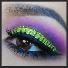 Neon green cut... Would be cute for Halloween :)