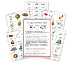 FREE Compound Word Pack | This Reading Mama
