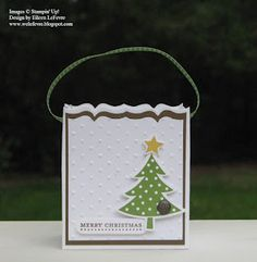 Scentsational Season, Holiday Collection framelits, & Fancy Favor die. Thanks Eileen!