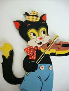 The Cat And the Fiddle wall plaque