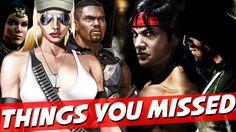 LIU KANG & SONYA BLADE | Mortal Kombat X Faction Trailer Breakdown - THI...