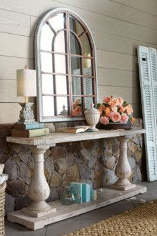 Rustic French Furniture....this may be fun to make.