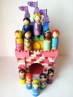 the royal princess set - complete princess set & personalized castle