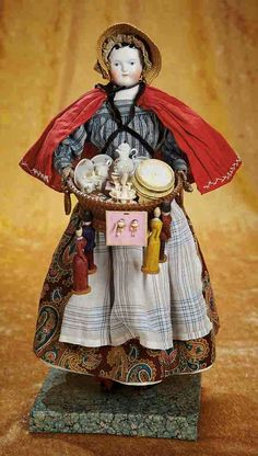Peddler Doll.  Lady Linda ♡