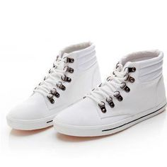 High-Top Canvas Sneakers from #YesStyle <3 MR.ZERO YesStyle.com.au