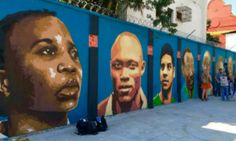 Brazilian Artists Pay Tribute To Olympic Refugee Team In Stunning Murals