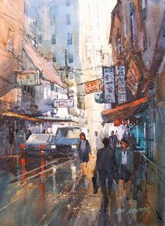 Ian Ramsay   WATERCOLOR