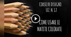 Lezione di disegno su come usare le matite colorate