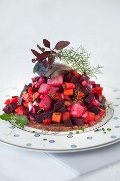 Russian Monday: Vinegrette - Vegetable Salad #Russian_recipes #Russian_food