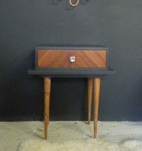 table de chevet vintage broie du noir