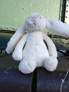 FOUND in LONDON SW16  This white jellycat bunny was found on Eardley Road in Streatham, London, on Wednesday afternoon, 11 Dec 2013 Contact: https://www.facebook.com/jessica.ford.54 or https://www.facebook.com/TeddyBearLostAndFound