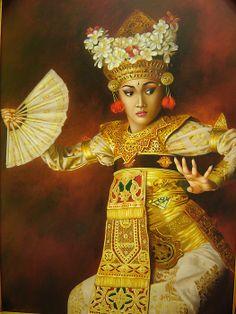 Balinese dancer, Harry Nurdianto